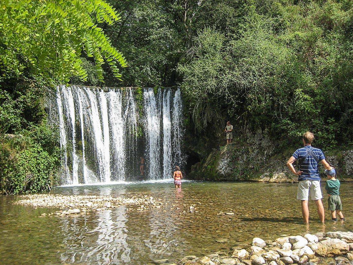 Les rivières du Vercors offrent de jolis buts de randonnée