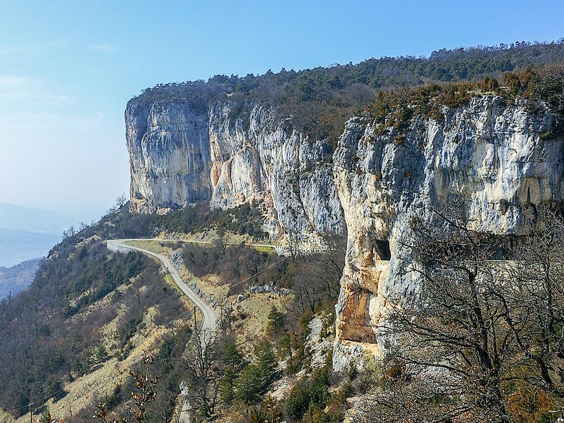 Route de Presles en Vercors