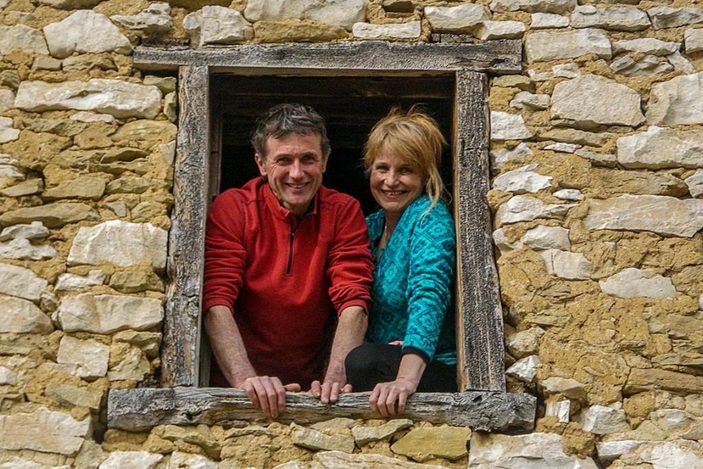 Bernard et Dom, gîtes et cabanes dans le Vercors
