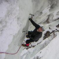 Cascade de glace massif des Ecrins