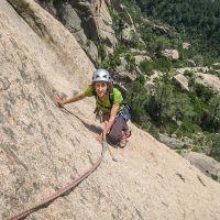 Stage d'escalade en Corse