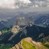 Mont Aiguille Vercors