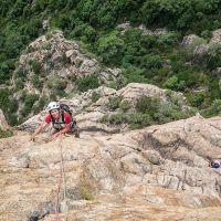 Stage grandes voies en Corse
